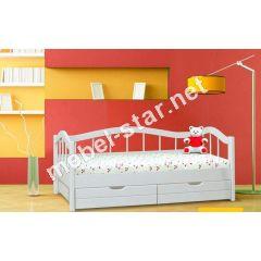 Подростковая кровать Гармония ясень