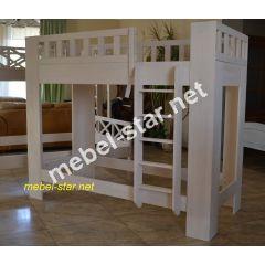 Двухъярусная кровать Тутти ольха, ясень