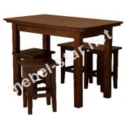 столовые и кухонные столы  дерево-ДСП