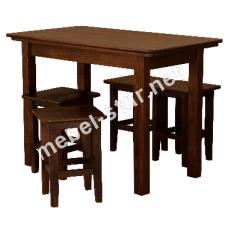 Кухонный стол из дерева СТ11