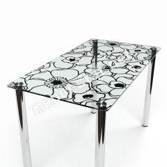 кухонный стол из стекла Скиф