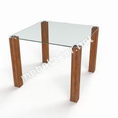 Стеклянный обеденный стол Квадрат