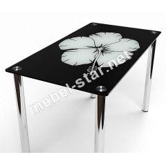 Стеклянный обеденный стол Лаватера