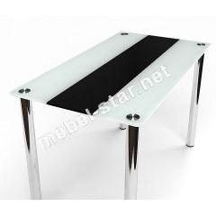 Стеклянный обеденный стол Вектор