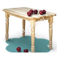 Кухонный стол из массива дерева ясень Нино