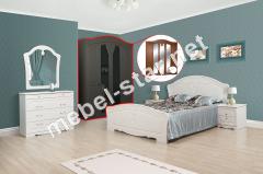 Спальня Луиза шкаф 5 дверей