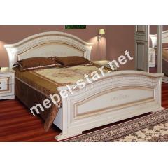 Кровать двуспальная Николь патина