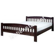 Односпальная, дуспальная кровать из дерева Ретро 1