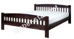 Односпальная, дуспальная кровать из дерева Ретро