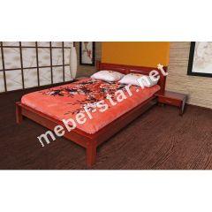 Односпальная, двуспальная кровать из дерева Гармония