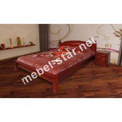 Односпальная, двуспальная Кровать из дерева Глория