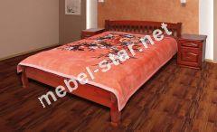 Односпальная, двуспальная, кровать из дерева Верона 2