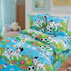 Комплект детского постельного белья Далматинцы бязь белорусская