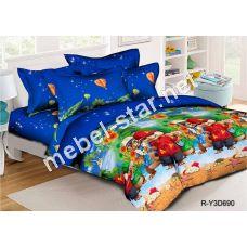 Комплект детского постельного белья  Элвин и бурундуки ранфорс
