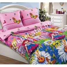 Комплект детского постельного белья  Маленькая Фея, поплин
