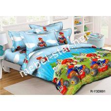 Комплект детского постельного белья  Марио ранфорс