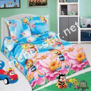 Комплект детского постельного белья  Медовая фея поплин