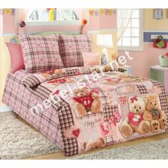 Комплект детского постельного белья Плюшевые мишки бязь