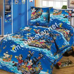 Детское постельное белье Морские Пираты бязь
