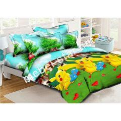 Комплект детского постельного белья Покемоны ранфорс