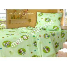 Комплект детского постельного белья Пуговки бязь белорусская