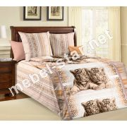 Комплект детского постельного белья Тигрята бязь белорусская