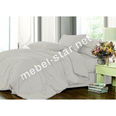 Комплект постельного белья Легкий серый 251 сатин