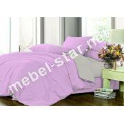 Комплект постельного белья Микс 033+251 сатин
