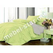 Комплект постельного белья Микс17+251 сатин