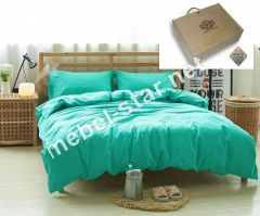 Комплект постельного белья Аквамарин, лен