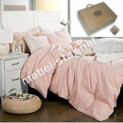 Постельное белье Розовый Сапфир лен