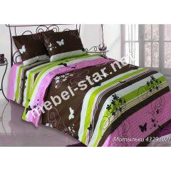 Комплект постельного белья Мотыльки бязь
