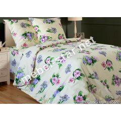 Комплект постельного белья Цветочный Микс бязь