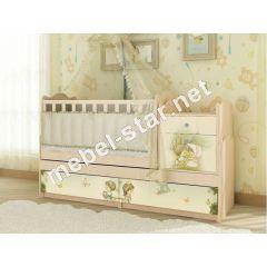 Детская кровать трансформер М.Д