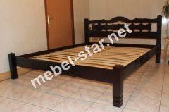 Полуторная, двуспальная кровать Инга