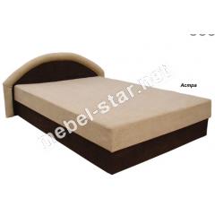 Односпальная, двуспальная кровать с подъемным механизмом и матрасом Ривьера
