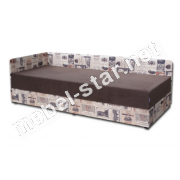 Односпальная кровать с подъемным механизмом и матрасом Болеро