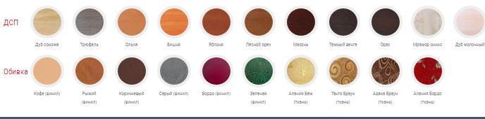 цветовая гамма кухонного уголка
